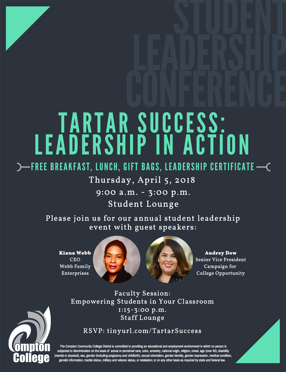 Graphic for Leadership Conference