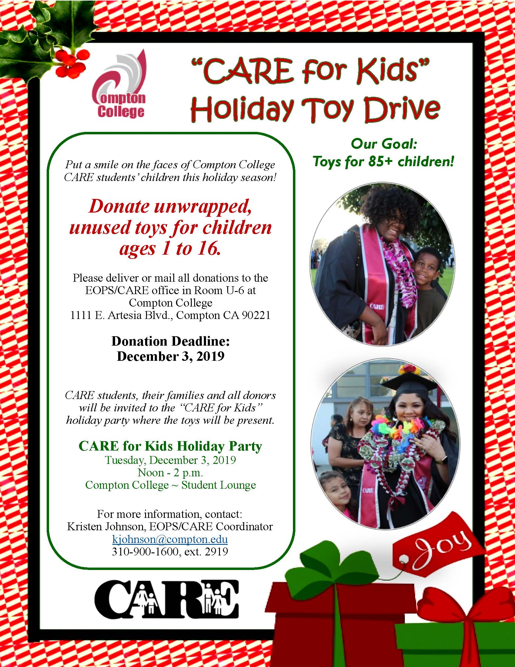 CARE Toy Drive