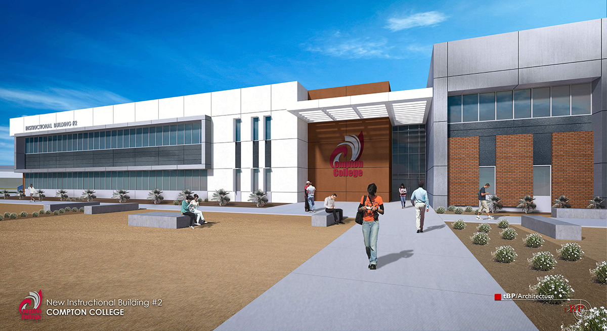 Instructional Building 2 archtectural rendering